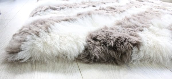 Sheepskin Rug - stripe