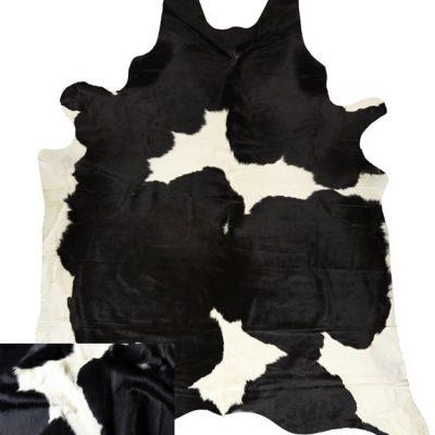 Cowhide Rug - Black & White - more black