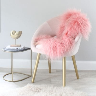 Icelandic Sheepskin - Pink Cora