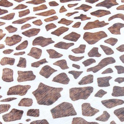 Giraffe Print Cowhide Rug