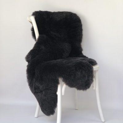 Sheepskin Throw - Icelandic Sheepskin Dark Grey