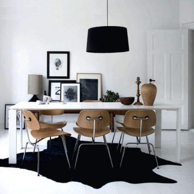 black-cowhide-rug