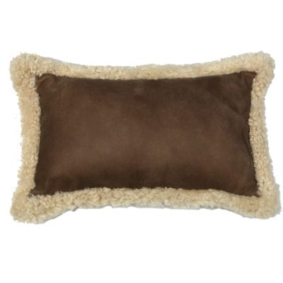 shearling cushion rectangle