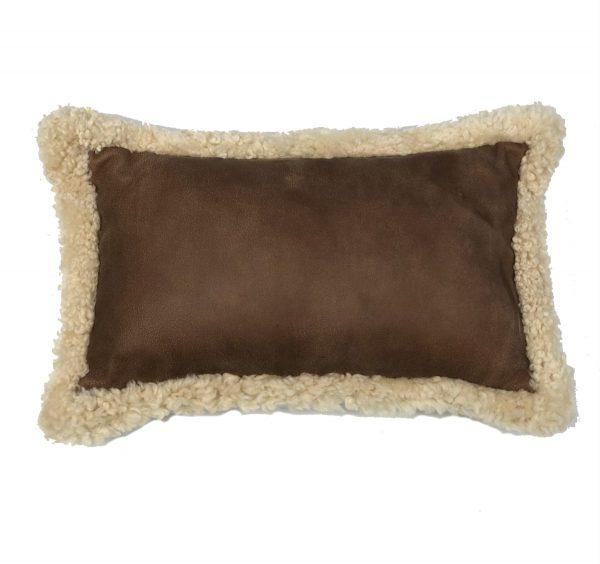 shearling cushion rectangle