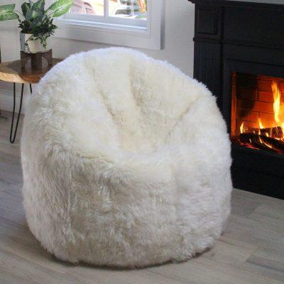 sheepskin-bean-bag-chair