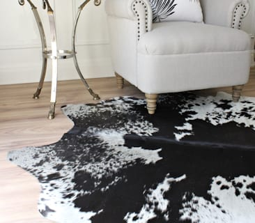 Cowhide Rugs - Black & White