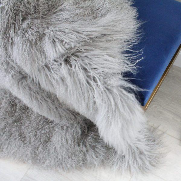 mongolian fur grey