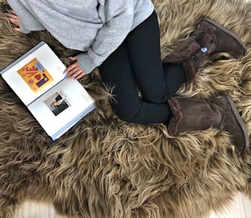 SHEEPSKIN SHAGGY RUGS