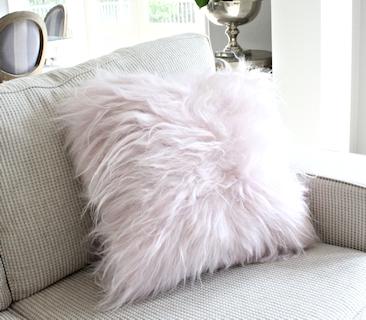 Icelandic Sheepskin Cushions