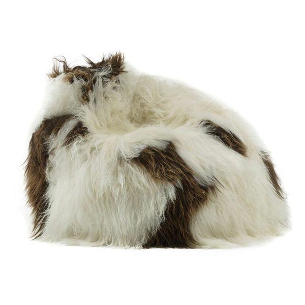 shaggy-beanbag-brown-white