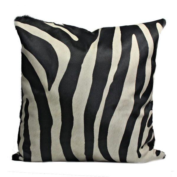 zebra cushion 60x60cm