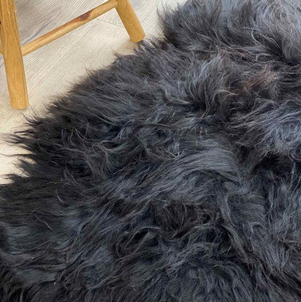 icelandic sheepskin black natural