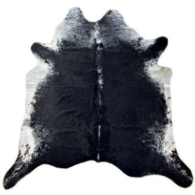 black cowhide rug 20