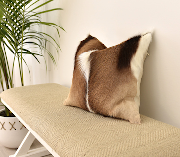 Deer Skin Cushions
