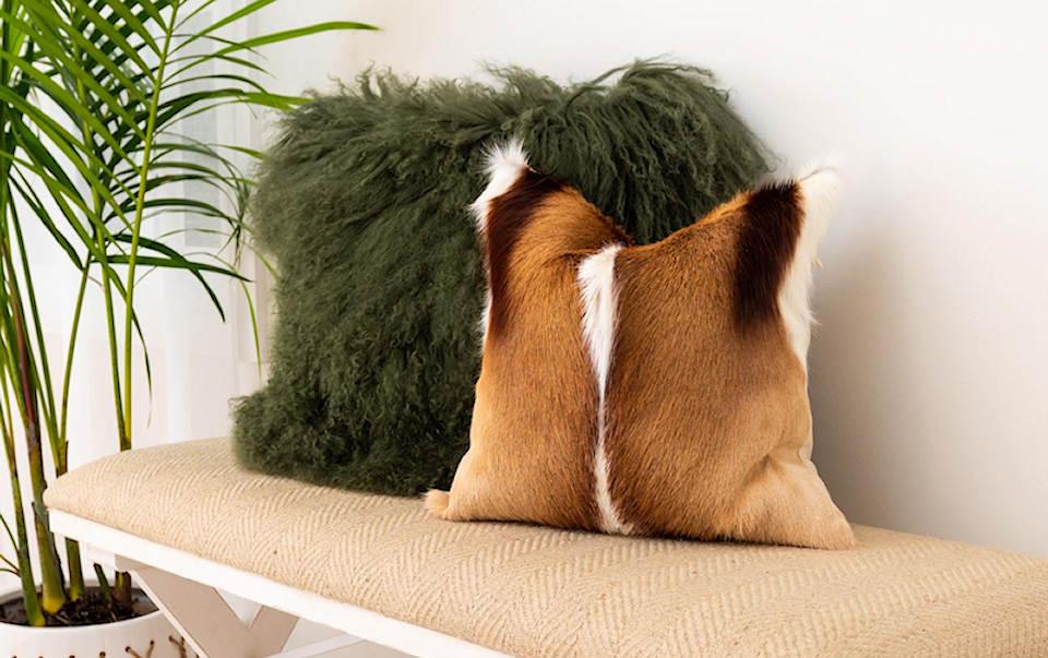 fur cushions australia eluxury home