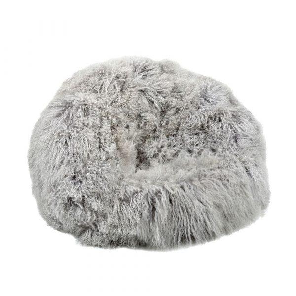 grey-fur-bean-bag-eluxury-home