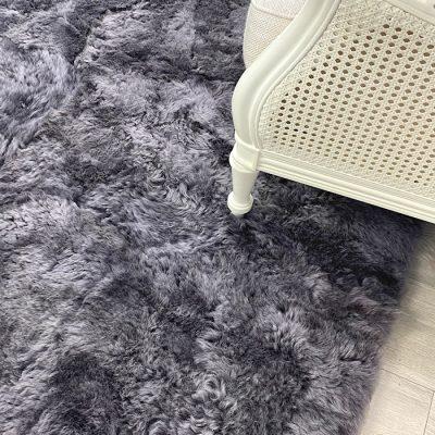 grey wool rug icelandic shorn