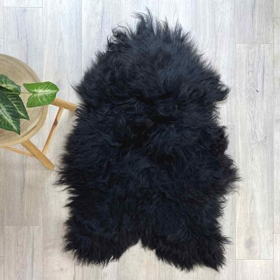 icelandic sheepskin natural black