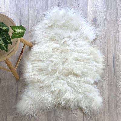 icelandic sheepskin - natural white