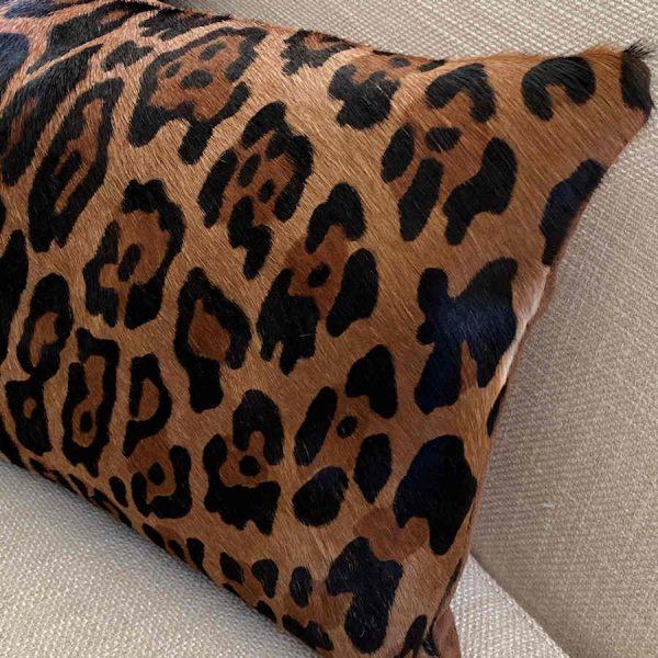 jaguar print cushion -3