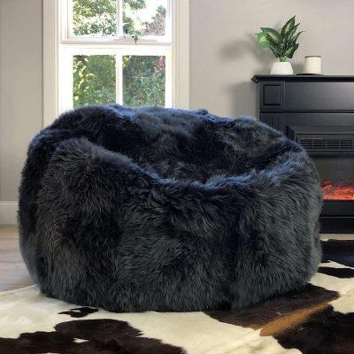 large-sheepskin-bean-bag-steel-grey-eluxury-home
