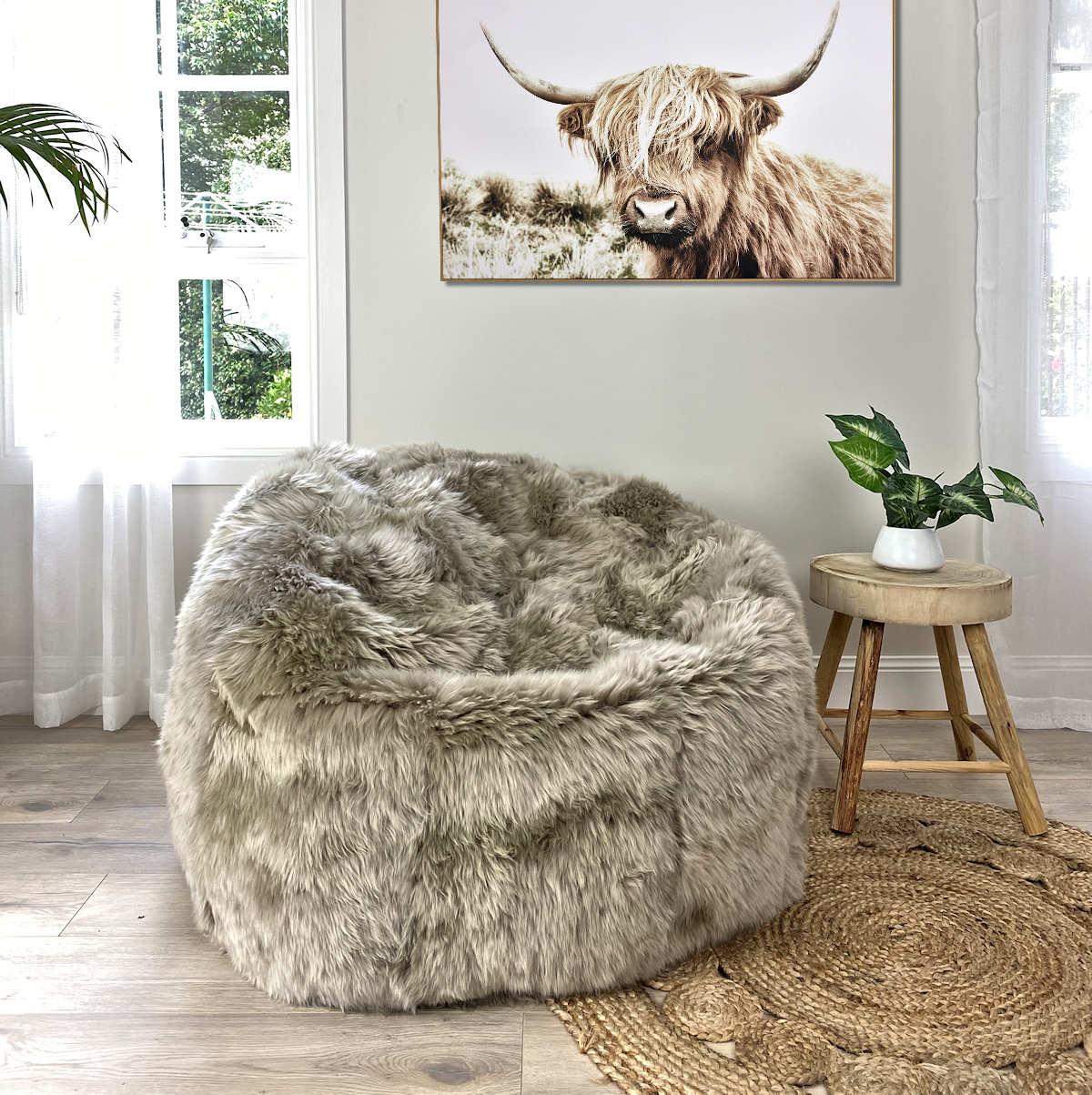large-sheepskin-bean-bag-vole