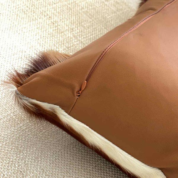 springbok pillow zipper