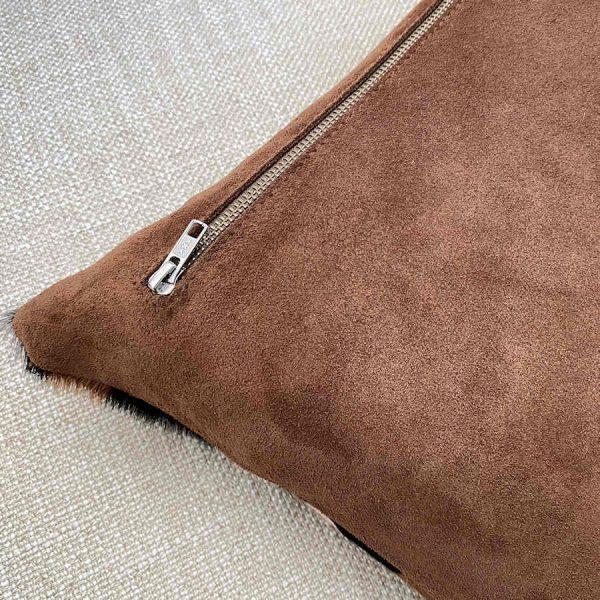 zip details for jaguar cushion