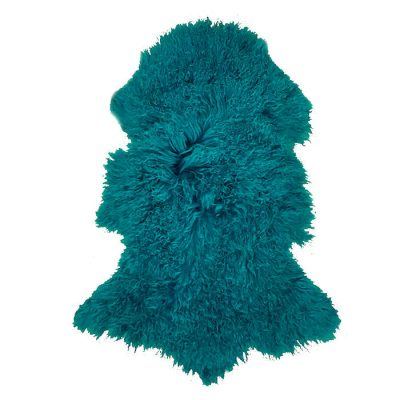 mongolian-sheepskin-teal-peacock