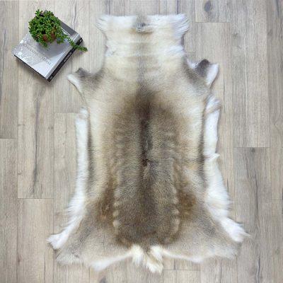 reindeer hide rug 24