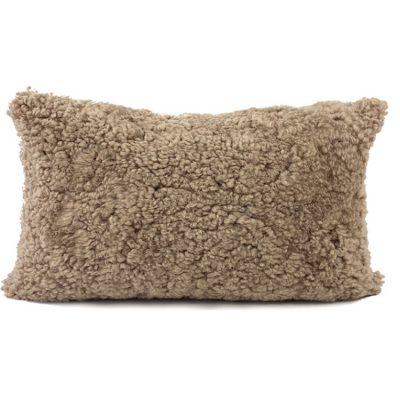 lumbar shearling cushion