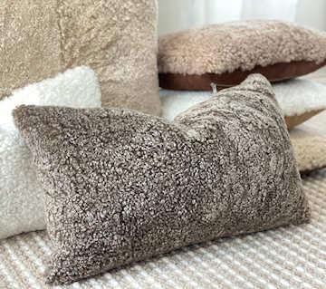 Shearling Cushions