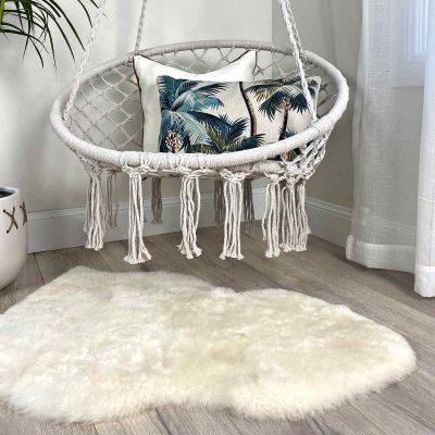 sheepskin-rug-white-merino-short-wool