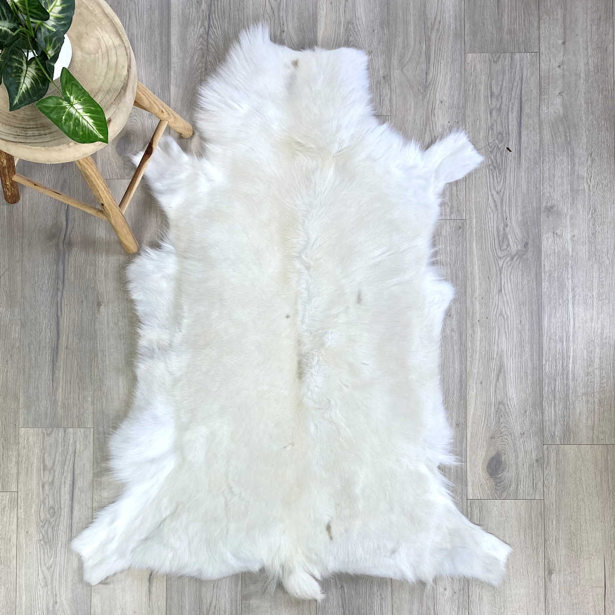 white reindeer skin - 25